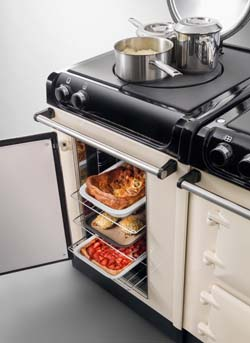 AGA 3 Series Fan oven and Simmer Plate