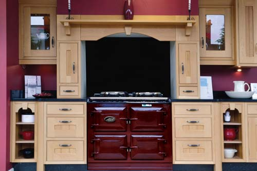 Kitchen Ideas Aga.Aga Recess Tn Cook Limited
