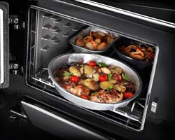 AGA 60 top oven cooking