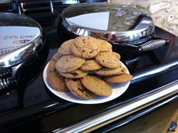 Saturday Baking - Choc-chip cookies